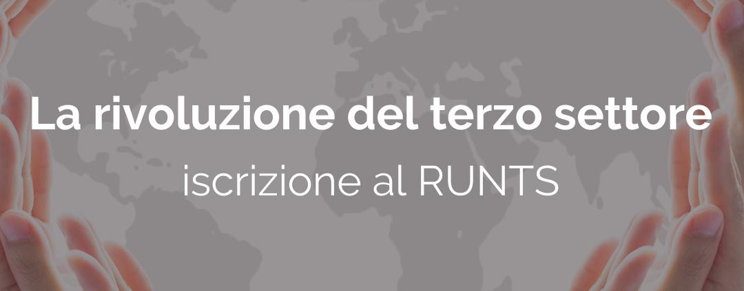 iscrizione runts - associazioni